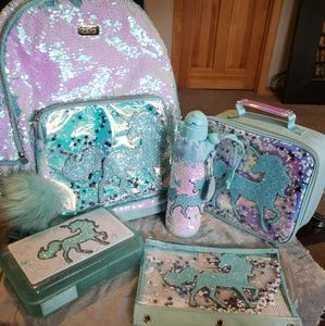 New Flip Sequin Unicorn Backpack Bundle